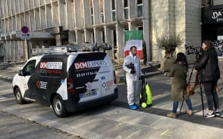 La désinfection de l'espace public démarre à Mulhouse avec DKM Experts
